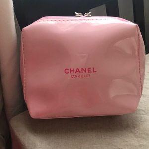 63433ed6186b7d CHANEL Bags | New Small Pink Makeup Bag | Poshmark